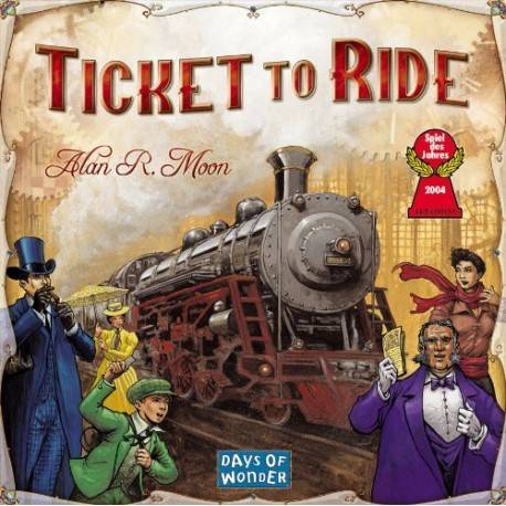 TICKET TO RIDE AMERICA DE NORD
