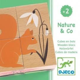 CUBURI DE LEMN - NATURA