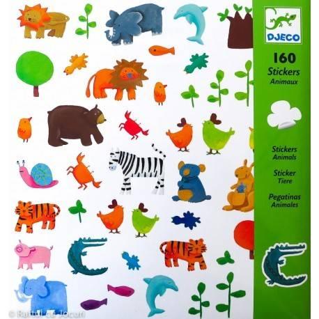 160 ABȚIBILDURI - ANIMALE