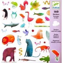 160 ABȚIBILDURI - ANIMALE PRIETENOASE