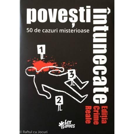 POVEȘTI ÎNTUNECATE - CRIME REALE