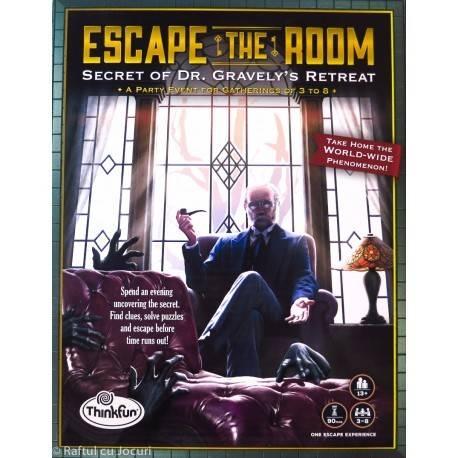 ESCAPE THE ROOM - SECRET OF DR. GRAVELY'S RETREAT