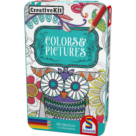 CREATIVE KIT COLORS & PICTURES - CUTIE METALICĂ
