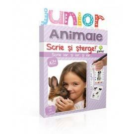 SCRIE ȘI ȘTERGE JUNIOR - ANIMALE