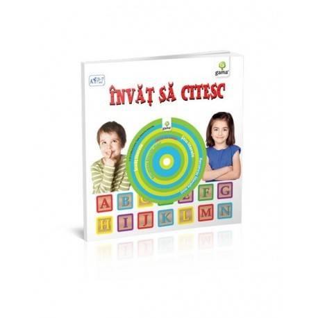 ÎNVĂȚ SĂ CITESC - CĂRȚI EDUCATIVE CU CD