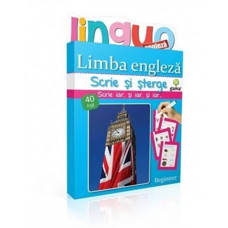 SCRIE ȘI ȘTERGE LINGUO - LIMBA ENGLEZĂ NIVEL 1