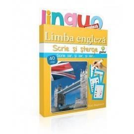 SCRIE ȘI ȘTERGE LINGUO - LIMBA ENGLEZĂ NIVEL 2