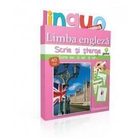 SCRIE ȘI ȘTERGE LINGUO - LIMBA ENGLEZĂ NIVEL 3