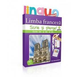 SCRIE ȘI ȘTERGE LINGUO - LIMBA FRANCEZĂ NIVEL 3