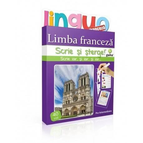 SCRIE ȘI ȘTERGE LINGUO - LIMBA FRANCEZĂ NIVEL 1