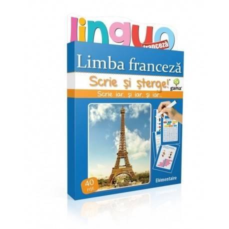 SCRIE ȘI ȘTERGE LINGUO - LIMBA FRANCEZĂ NIVEL 2