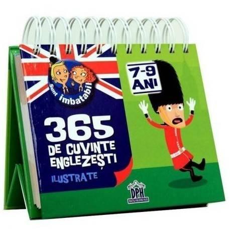 SUNT IMBATABIL - 365 DE CUVINTE ENGLEZEȘTI ILUSTRATE - 7-9 ANI