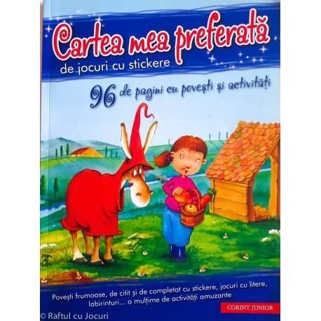 CARTEA MEA PREFERATĂ DE JOCURI CU STICKERE