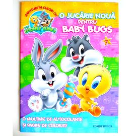 BABY LOONEY TUNES. AVENTURI ÎN CULORI - O JUCĂRIE NOUĂ PENTRU BABY BUGS