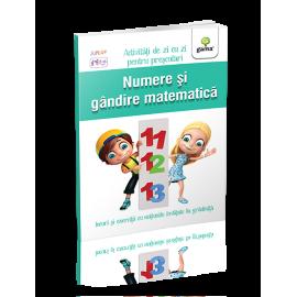 NUMERE ȘI GÂNDIRE MATEMATICĂ 5-6 ANI - ACTIVITĂȚI DE ZI CU ZI