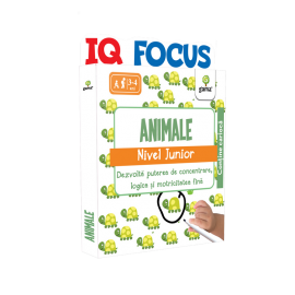 IQ FOCUS JUNIOR - ANIMALE