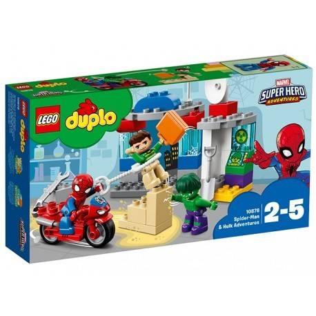 AVENTURILE LUI SPIDERMAN SI HULK LEGO® DUPLO®