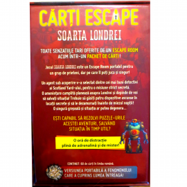 CĂRȚI ESCAPE - SOARTA LONDREI