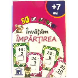 ÎNVĂȚĂM TABLA ÎMPĂRȚIRII - 50 DE JETOANE