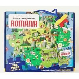 PUZZLE ROMÂNIA - CĂLĂTOREȘTE, ÎNVAȚĂ, EXPLOREAZĂ