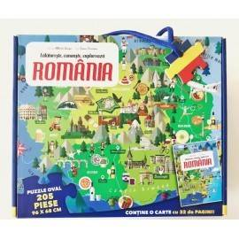 PUZZLE ROMANIA - CALATORESTE, INVATA, EXPLOREAZA