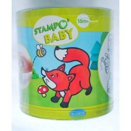 SET CREATIV STAMPO BABY ANIMALE DIN PĂDURE