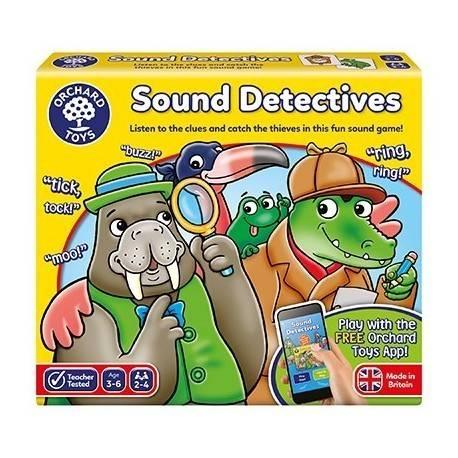 SUNETUL DETECTIVILOR - SOUND DETECTIVES