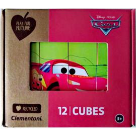 CARS - PUZZLE CLEMENTONI 12 CUBURI