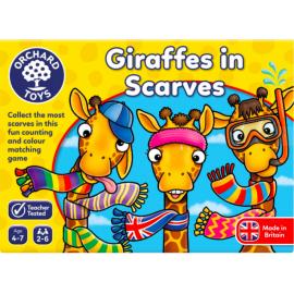 GIRAFE CU EȘARFE / GIRAFFES IN SCARVES