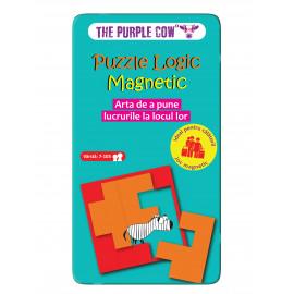 PUZZLE LOGIC MACNETIC- THE PURPLE COW