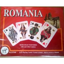 CĂRȚI DE JOC DELUXE - ROMÂNIA