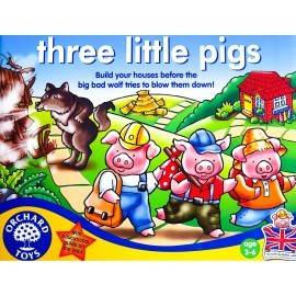 CEI TREI PURCELUȘI / THREE LITTLE PIGS