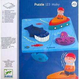 PUZZLE RELIEF 1,2,3 MOBY