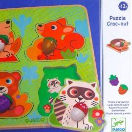PUZZLE - ANIMALE DIN PĂDURE