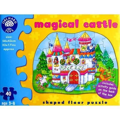 PUZZLE DE PODEA - CASTELUL MAGIC (40 PIESE)