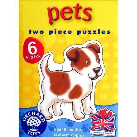 SET 6 PUZZLE - ANIMALE DE COMPANIE