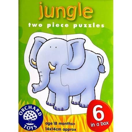 SET 6 PUZZLE - JUNGLA