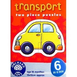 SET 6 PUZZLE - MIJLOACE DE TRANSPORT