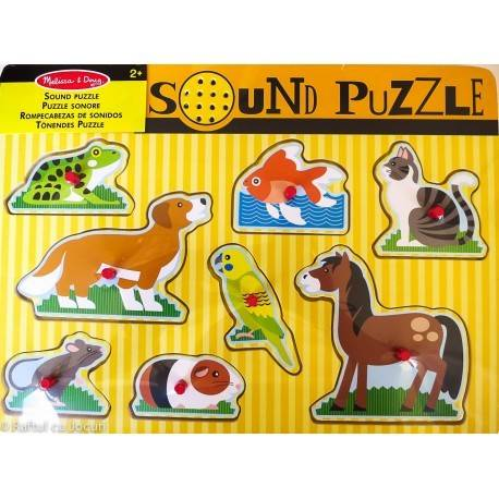 PUZZLE SONOR - ANIMALE DE COMPANIE