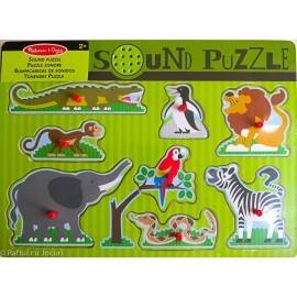 PUZZLE SONOR - ANIMALE DE LA ZOO