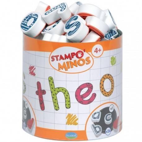 SET CREATIV STAMPO MINOS - LITERE MICI