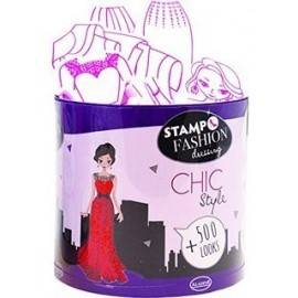 SET CREATIV STAMPO FASHION DRESSING CITY CHIC