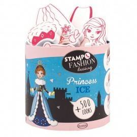 SET CREATIV STAMPO FASHION DRESSING PRINCESS ICE
