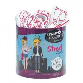 SET CREATIV STAMPO FASHION DRESSING STREET STYLE