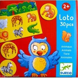 LOTO CU ANIMALE / ANIMALS LOTTO