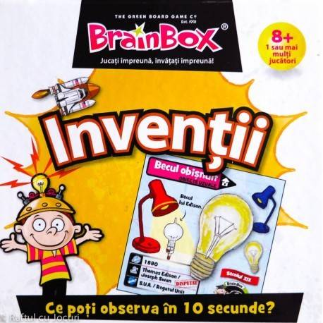 BRAINBOX - INVENȚII