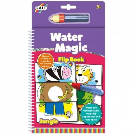 WATER MAGIC - CARTE DE COLORAT JUNGLA VESELĂ