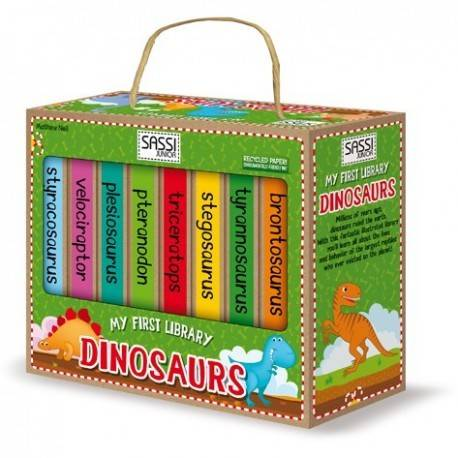 MY FIRST LIBRARY - DINOSAURUS