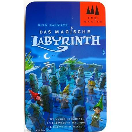 LABIRINTUL MAGIC / THE MAGIC LABYRINTH - CUTIE METALICĂ