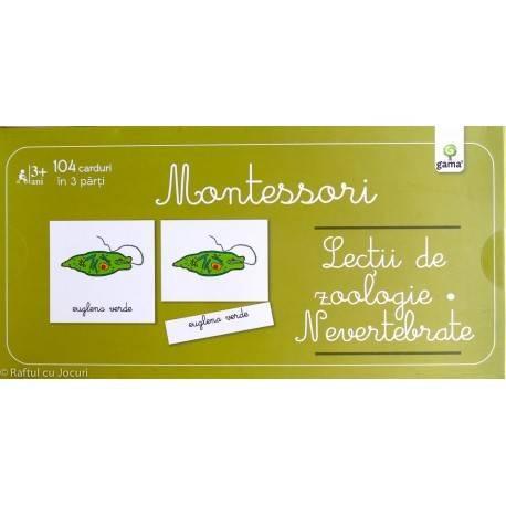 LECȚII DE ZOOLOGIE, NEVERTEBRATE - MONTESSORI